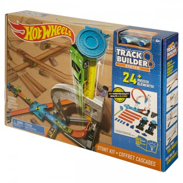 Трек Mattel Hot Wheels DLF28 Конструктор трасс: Мертвая петля