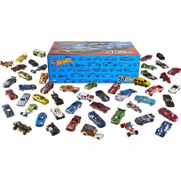 Набор машинок Hot Wheels Basic Car 50-Pack