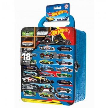 Портативный кейс для хранения 18 машинок Hot Wheels, цвет: голубой