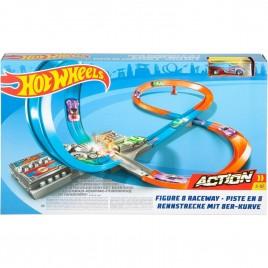 Набор игровой Hot Wheels Скоростная восьмерка GGF92
