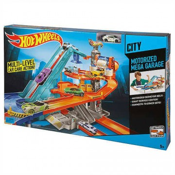 Трек Mattel Hot Wheels BGJ18 Мега гараж