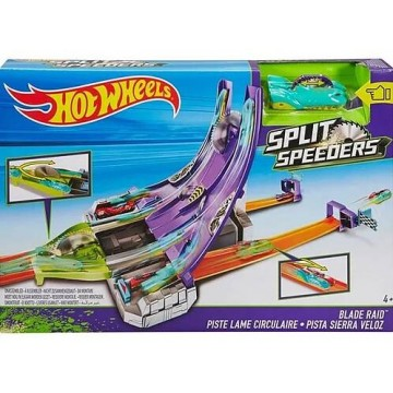 Трек Mattel Hot Wheels DHY27 Острые лезвия серии Молниеносные половинки
