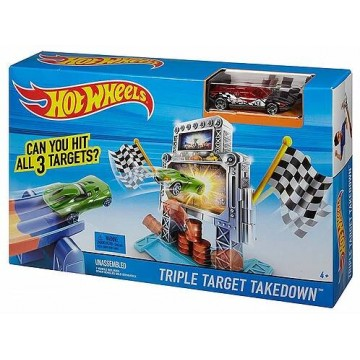 Трек Mattel Hot Wheels DJF02 Тройной удар