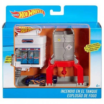 Трек Mattel Hot Wheels DWL01 Взрывная трасса