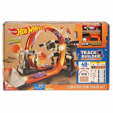 Трек Mattel Hot Wheels DWW96 Конструктор трасс: Взрывной набор