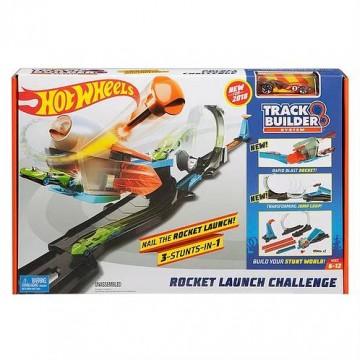 Трек Mattel Hot Wheels FLK60 Конструктор трасс Запуск ракеты