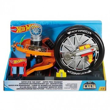 Трек Mattel Hot Wheels FNB15 Шиномонтажная мастерская
