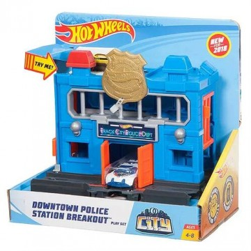 Трек Mattel Hot Wheels FRH33 Полицейский участок