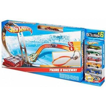 Трек Mattel Hot Wheels X2586 Гоночный Восьмерка/гоночная трасса